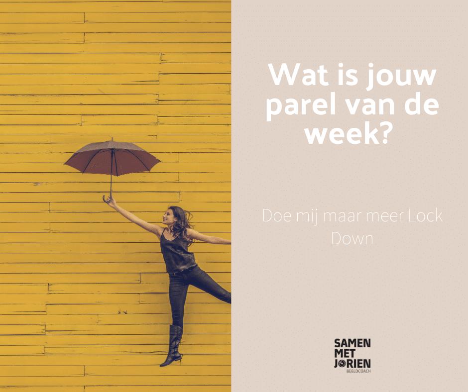 Parel van de Week - Samen met Jorien - beeldcoach